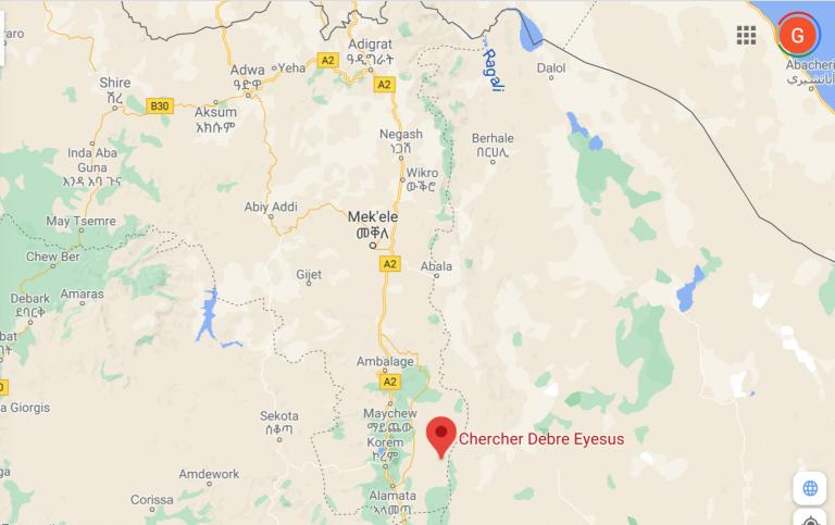A massacre in Chercher and  Afar militia's land claims.