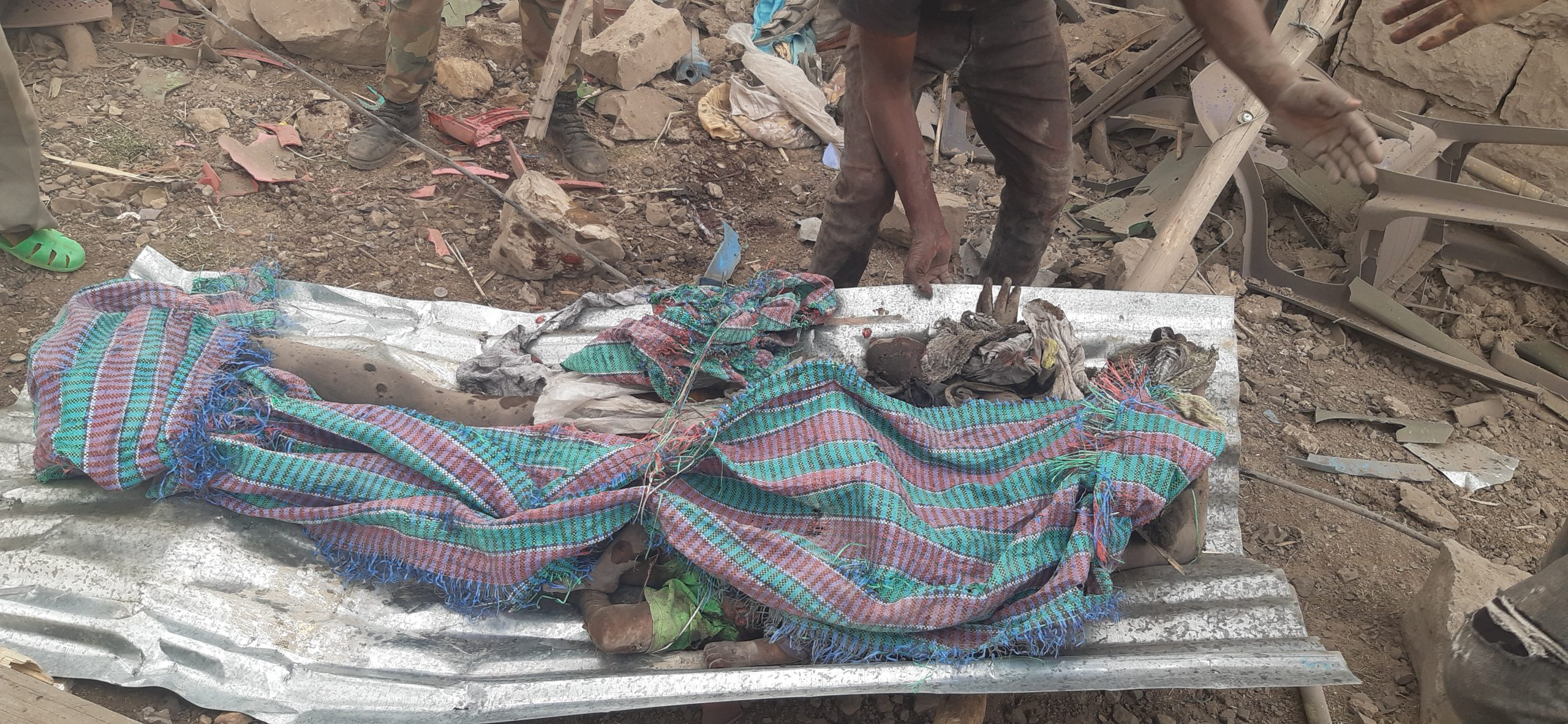 Healthcare workers recount Togoga after the airstrike (Photos and videos included)
