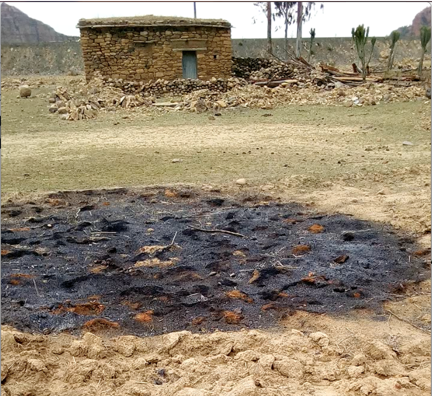 Damage Assessment in 52 households in the village of Digum due to the war on Tigray