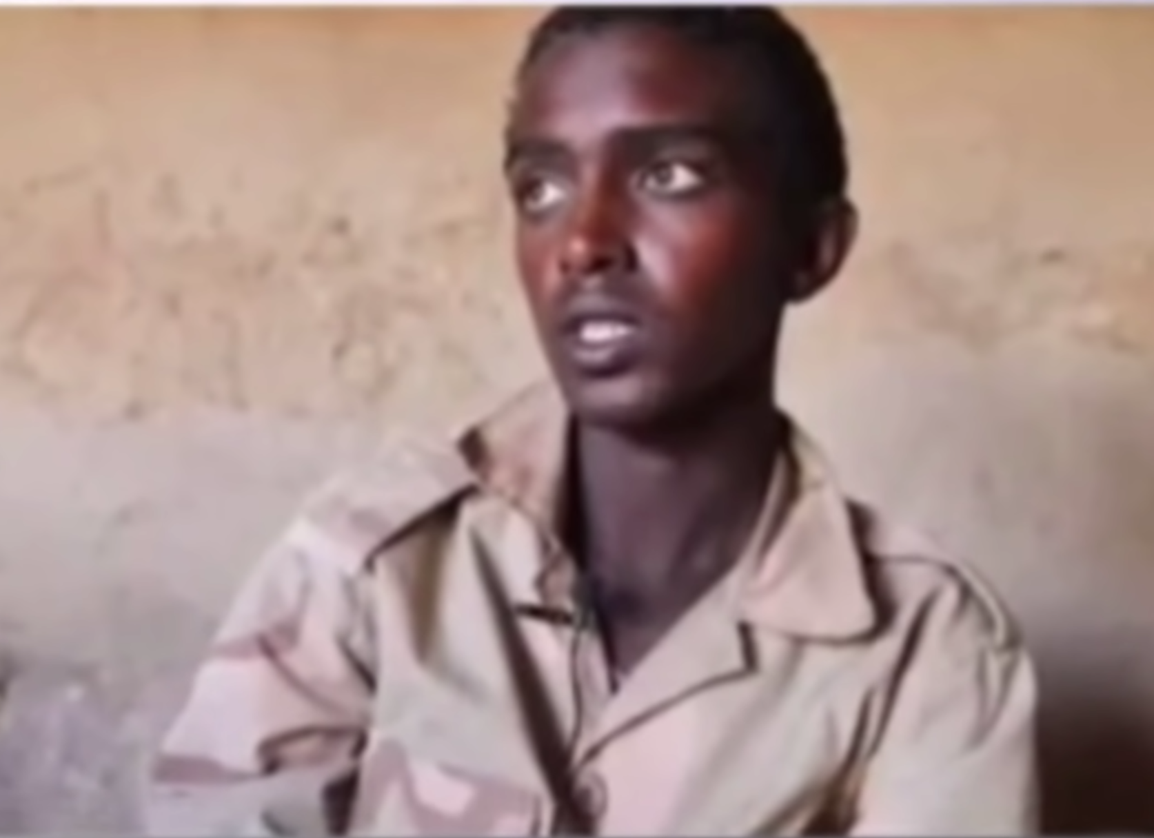 The captured minor Eritrean soldier says Eritrea builds ideas when Tigray builds brick and mortar