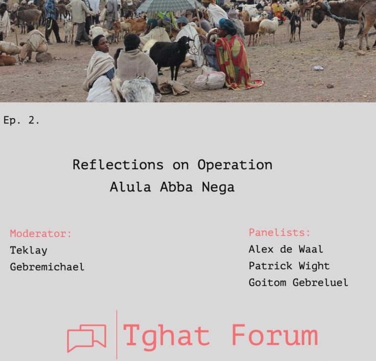 Tghat Forum 2: Reflections on Operation Alula
