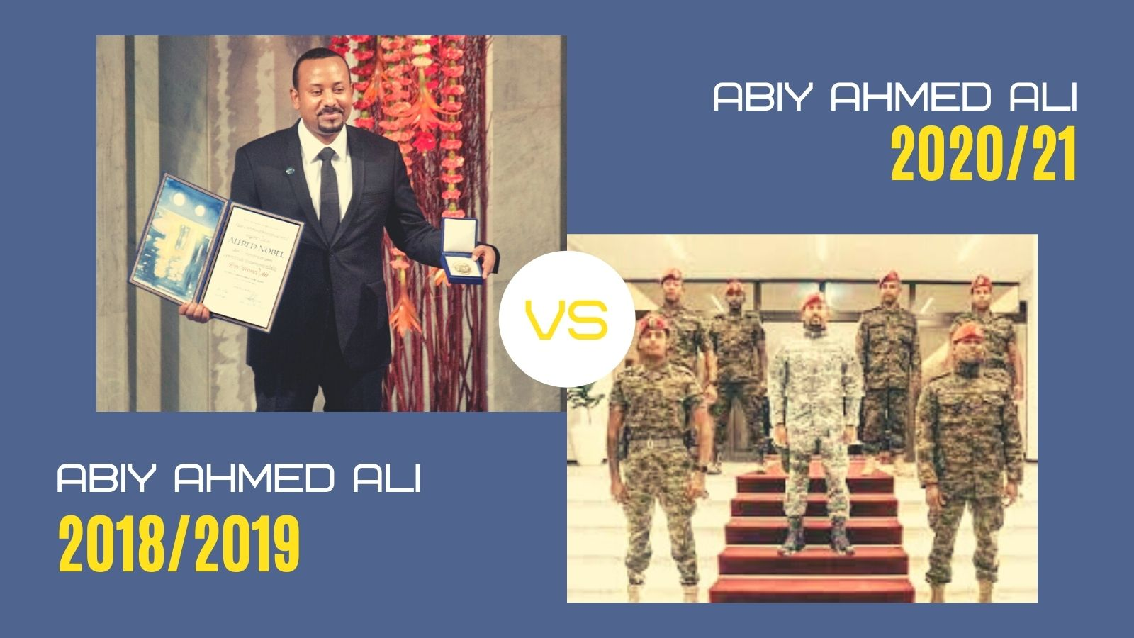 Your Words Not Mine: A Message to PM Abiy in His Own Words