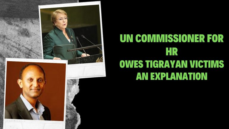 UN Commissioner for Human Rights Owes Tigrayan Victims an Explanation
